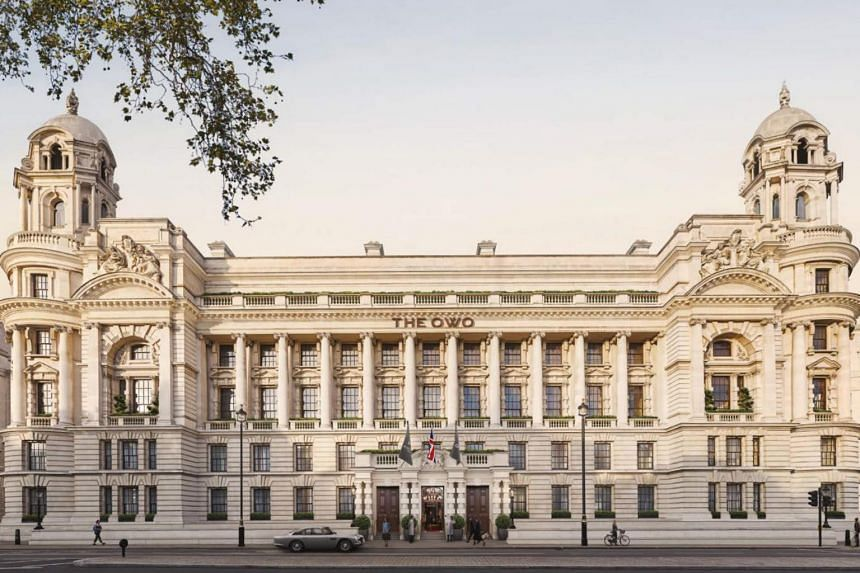 Raffles Hotels & Resorts will also operate its first residence in Europe at London's Old War Office building.