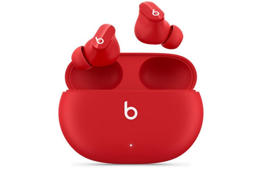 The minimalist design of the Studio Buds marks a change for Apple.