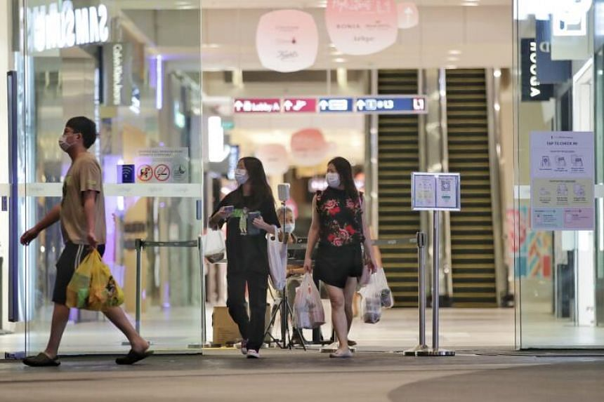 Data confirms that people in Singapore spent significantly less time at places associated with retail and recreation.