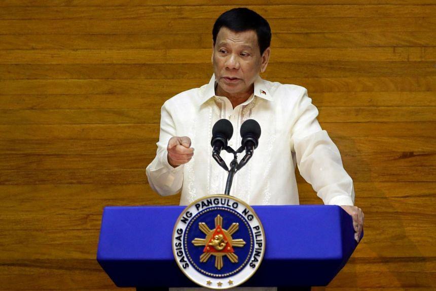 President Rodrigo Duterte has repeatedly denied links to the killings.
