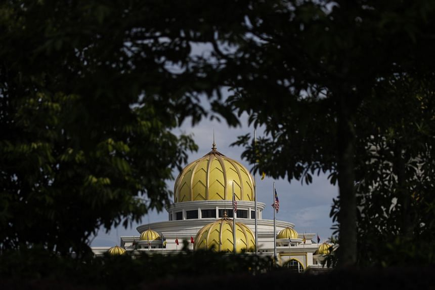 A view of the Royal Palace in Kuala Lumpur, on June 9, 2021.