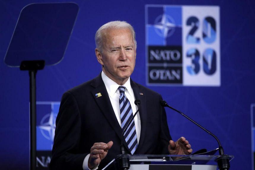 US President Joe Biden did not offer evidence for the assertion.