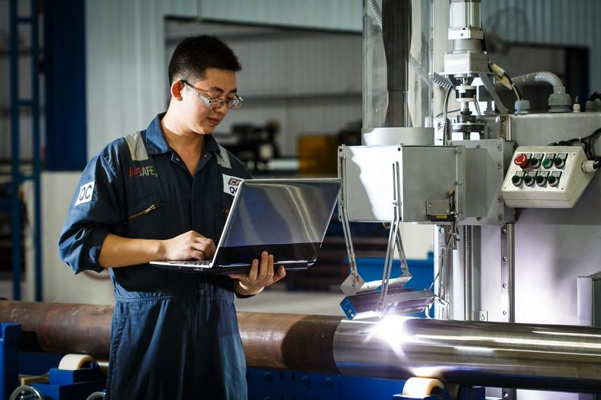 The Industry 4.0 Human Capital Initiative (IHCI) Programme aims to help companies tackle operational pain points in implementing Industry 4.0 solutions and provide them with a tailored roadmap for a sustainable Industry 4.0 transformation. PHOTO: MCK