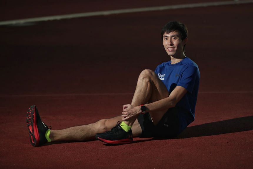 Soh Rui Yong had met the qualifying benchmark in March, winning a race at the Singapore Athletics All Comers Meet 2.