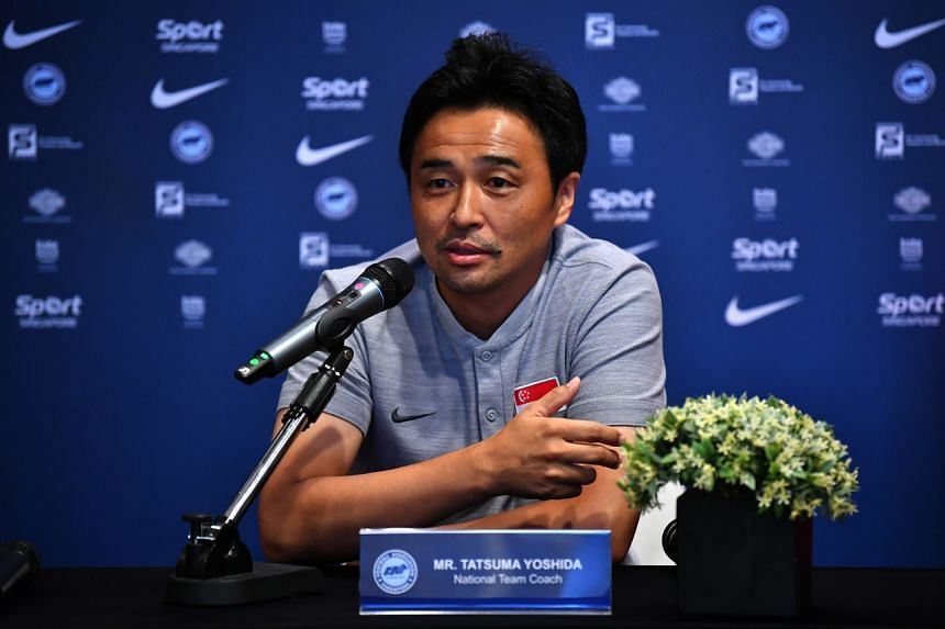 """Lions coach Tatsuma Yoshida told The Straits Times that his side """"received a hard lesson"""" during the campaign."""