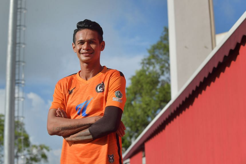 Ridhuan Muhammad has won numerous titles since making his debut with the Young Lions in 2003.