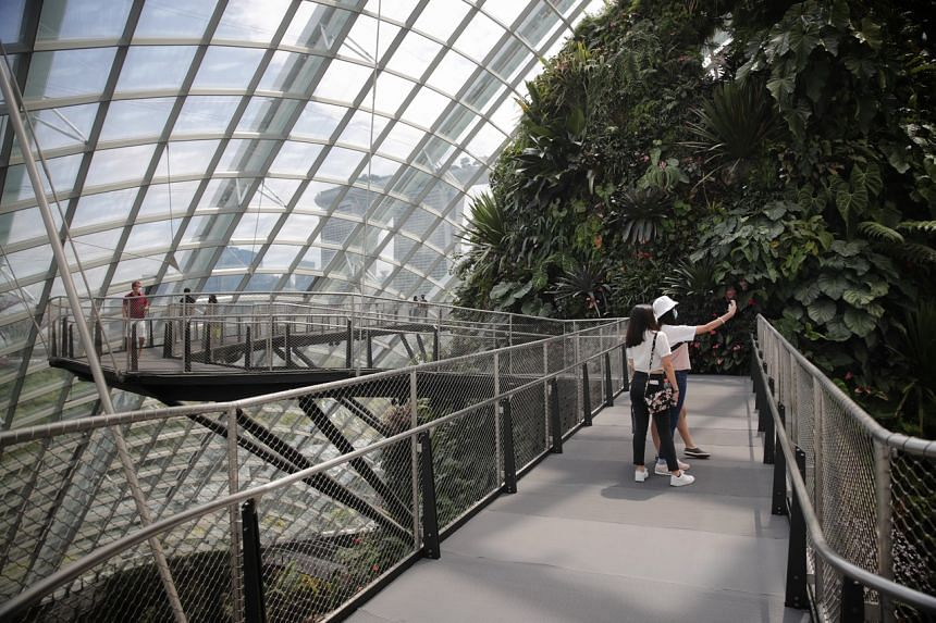 Gardens by the Bay saw a 12 per cent increase in bookings over the past weekend.