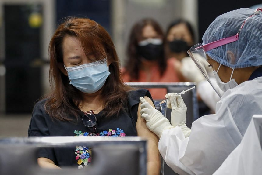 Out of Thailand's population of 66 million, just 4.76 million have received at least one dose of a Covid-19 vaccine.