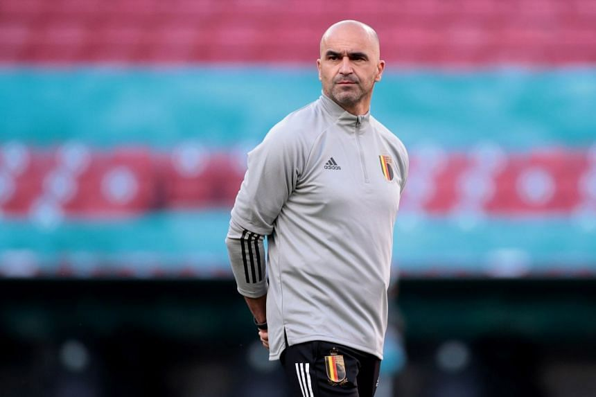 """Belgium coaach Roberto Martinez said his team would make """"some sort of gesture"""" for Christian Eriksen at the start of their match against Denmark."""