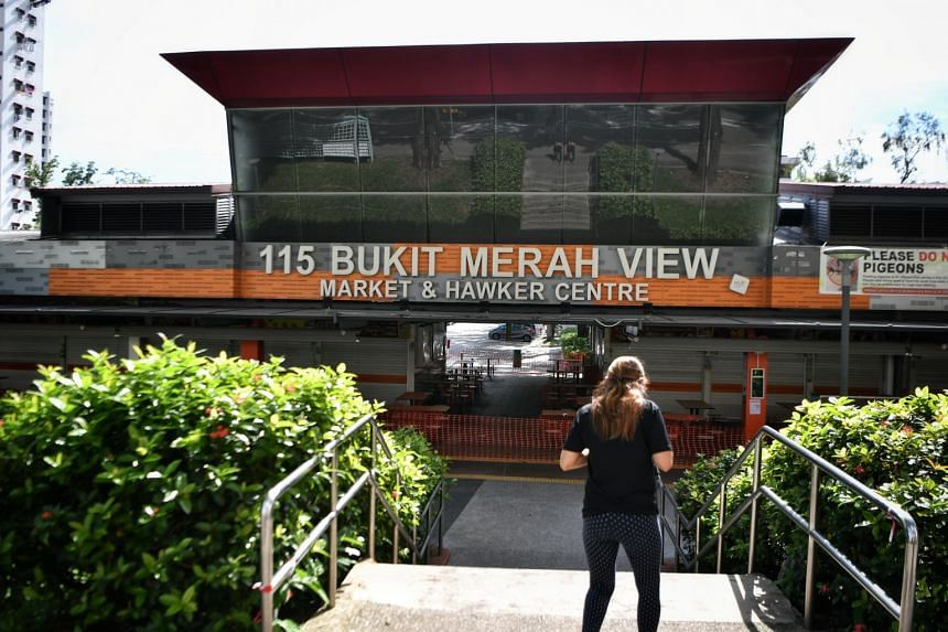 The cluster at 115 Bukit Merah View Market and Food Centre is linked to 56 cases, making it the third largest open cluster.