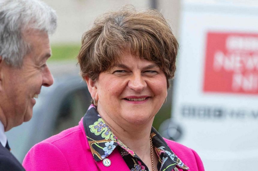 Ms Arlene Foster resigned on Monday following her ousting as leader of the Democratic Unionist Party.