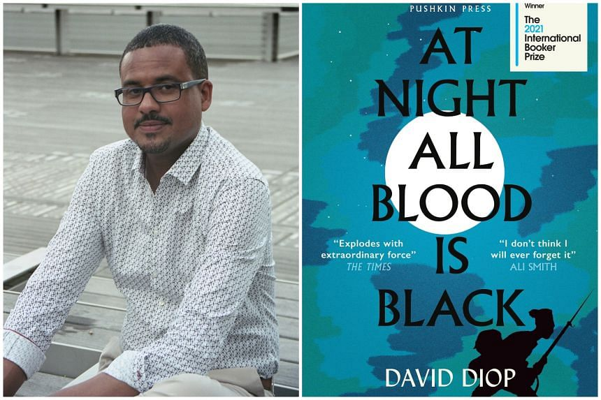 French historical novelist David Diop's book, At Night All Blood Is Black, won the prestigious International Booker Prize.