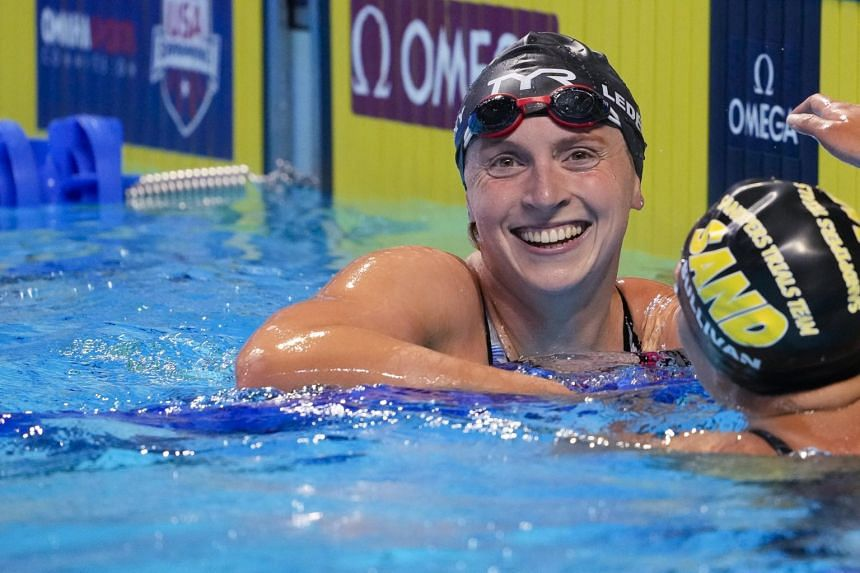 The 24-year-old has now qualified in three events.