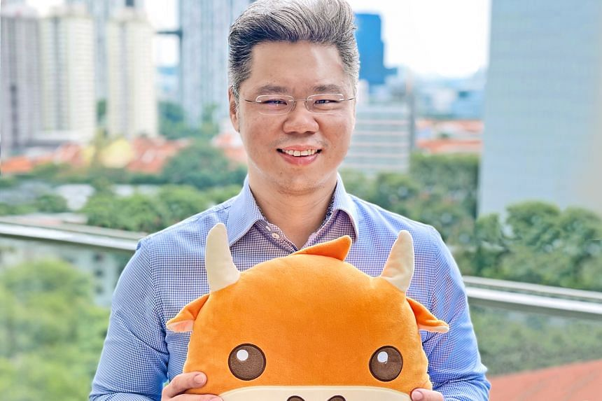 Mr Gavin Chia, director of Futu Singapore, aims to help Futu grow in the region and continue cementing its position as a leading trading app that helps users take control of their finances. PHOTO: FUTU SINGAPORE