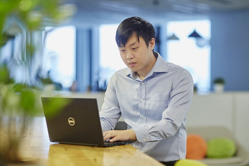 IT auditing excites Mr Dominic Ho as he thinks it is a niche field of work that is becoming ever more important as technology advances. PHOTO: TED CHEN