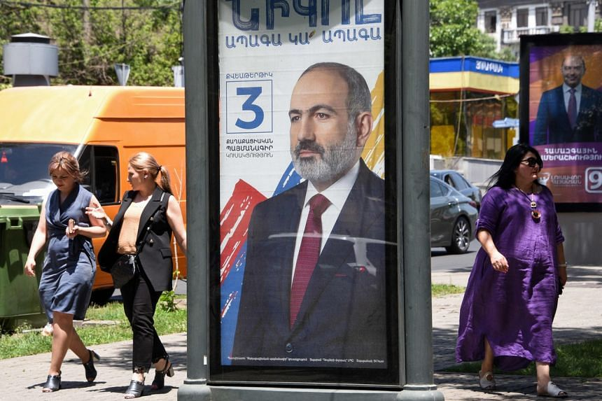 Mr Pashinyan has defied calls to resign since he ended the war for control of the breakaway region of Nagorno-Karabakh.