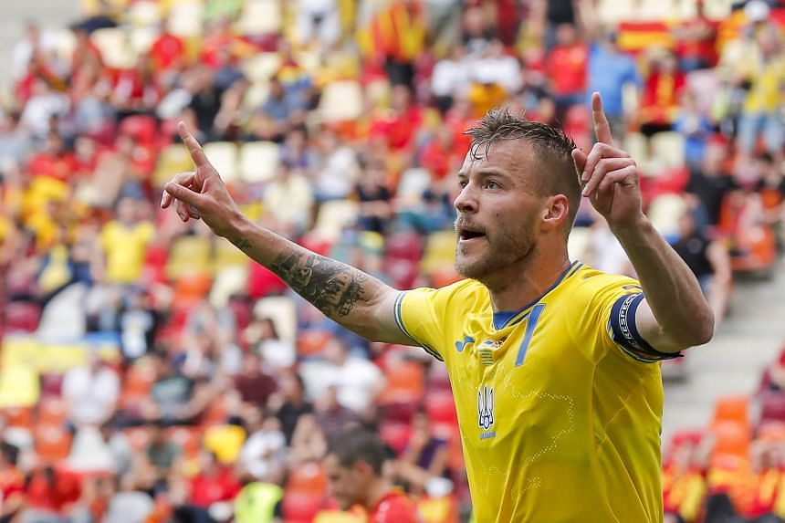 Football: Yarmolenko inspires Ukraine to 2-1 win over North Macedonia,  Football News & Top Stories - The Straits Times