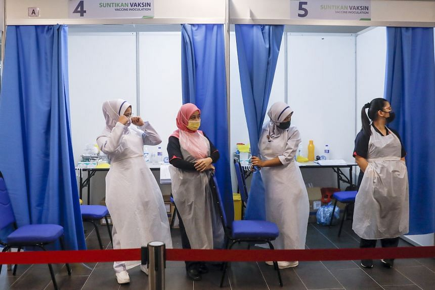 The government aims to get a 50 per cent Covid-19 vaccination rate in Kuala Lumpur and Selangor by July.
