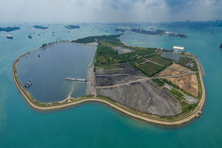 The planned solar farm at Pulau Semakau will have enough energy to power up to 17,500 households.