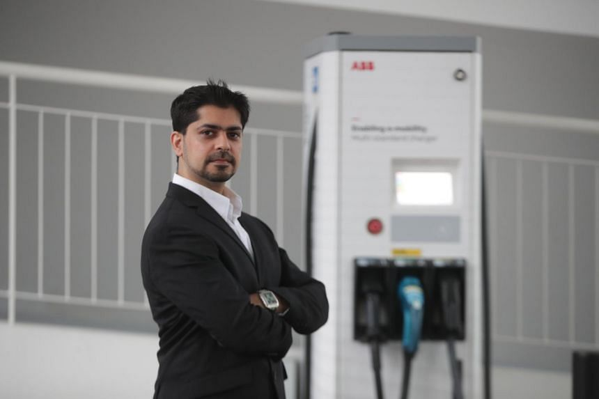 Mr Kumail Rashid, Asia-Pacific e-mobility division lead of ABB.