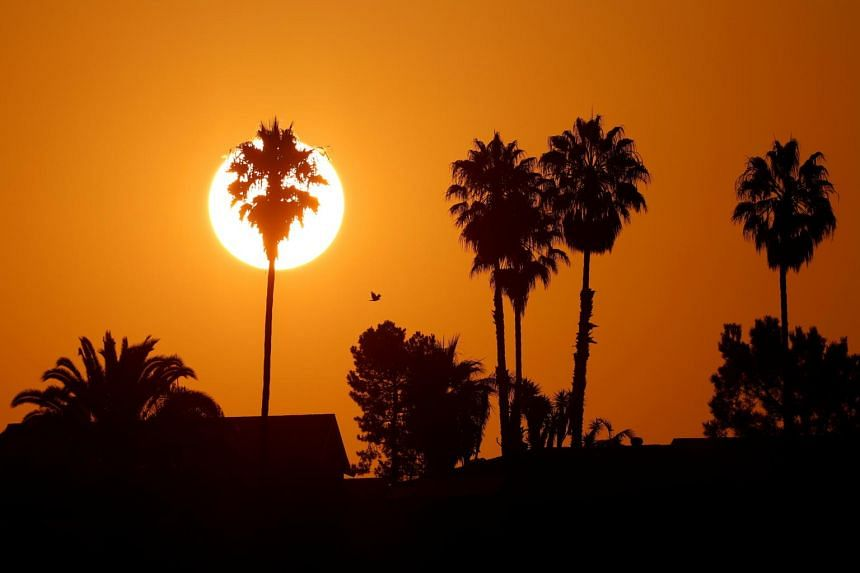 The National Weather Service has issued excessive heat warnings for five states including California.