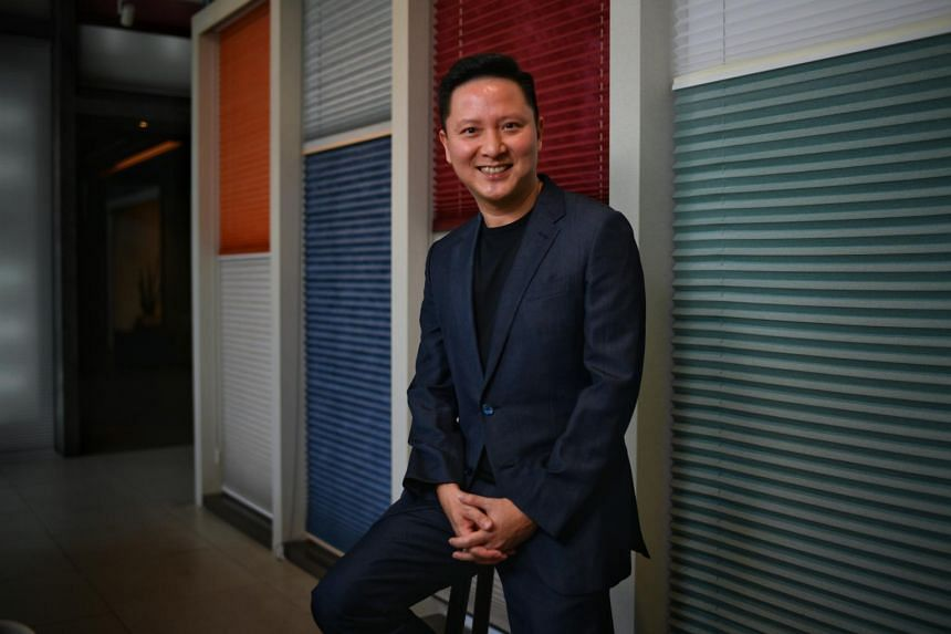 Business owner Wilson Chew still thinks paper qualifications are important, alongside on-the-job training.