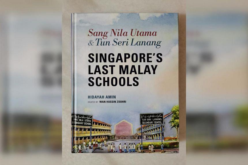 The book documents the history of Sang Nila Utama Secondary School and Tun Seri Lanang Secondary School.