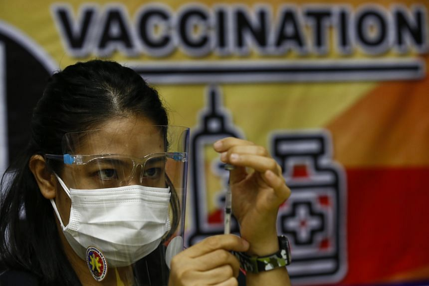The Philippines aims to inoculate 50 million to 70 million people to achieve herd immunity.