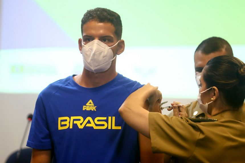 Brazil has given out more than 86 million shots, but that covers less than 30 per cent of the population with a first dose.