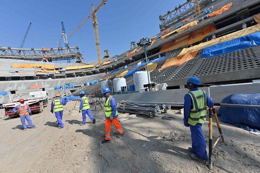 Qatari officials had earlier said they hoped to hold a coronavirus-free tournament.