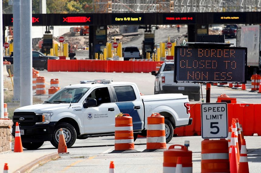 The US government plans to hold working-group meetings with Canada and Mexico on travel restrictions every two weeks.