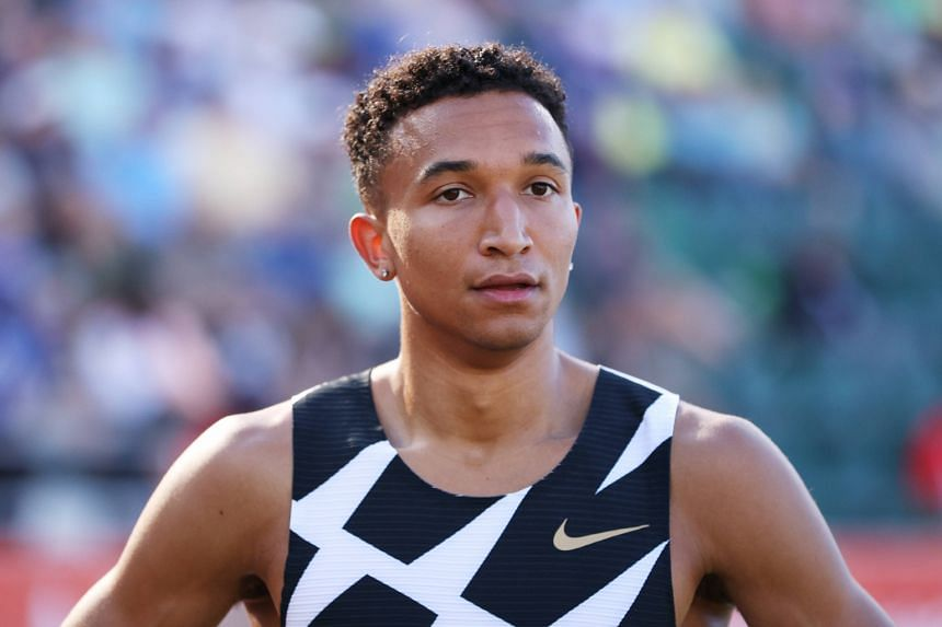 Donovan Brazier finished last in the men's 800m at the US trials in Eugene, Oregon, on June 21, 2021.