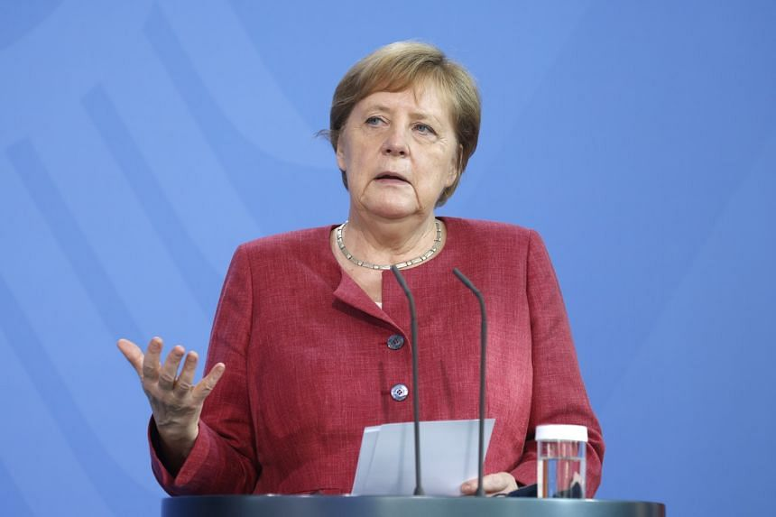 Outgoing German Chancellor Angela Merkel said that some sectors in the country's economy may need further aid.