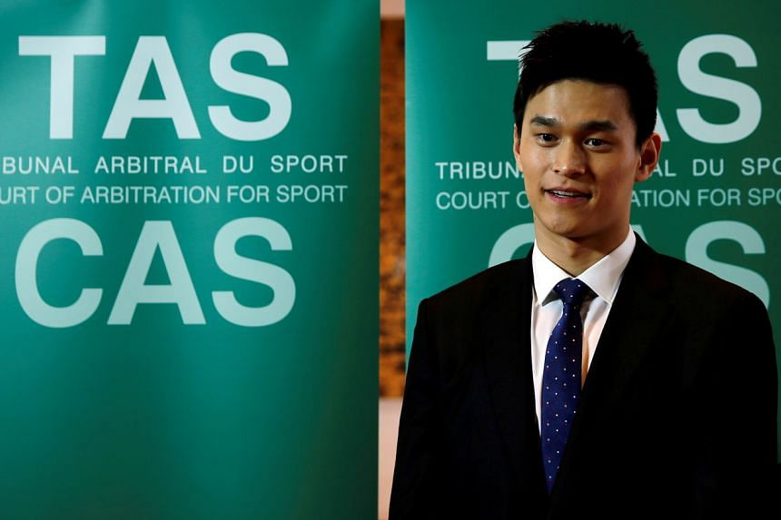 The Court of Arbitration for Sport has ruled that Sun Yang be suspended for four years and three months.