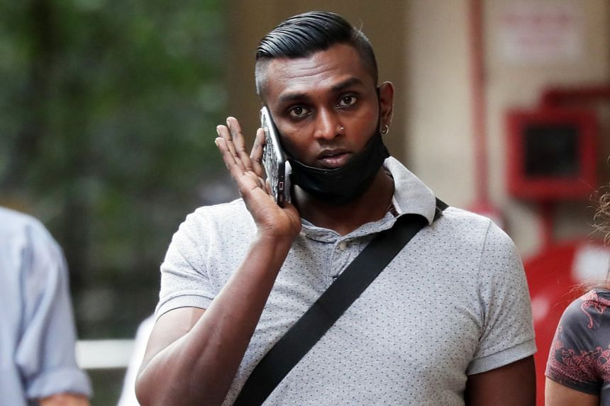 Vinod Raj repeatedly punched and kicked the driver, who did not retaliate.