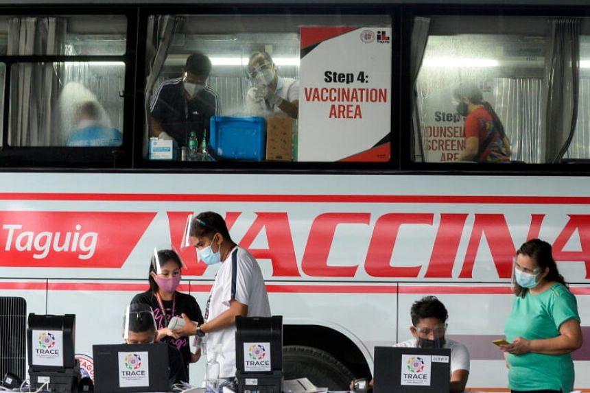 As of June 20, the Philippine authorities had fully vaccinated 2.1 million people.