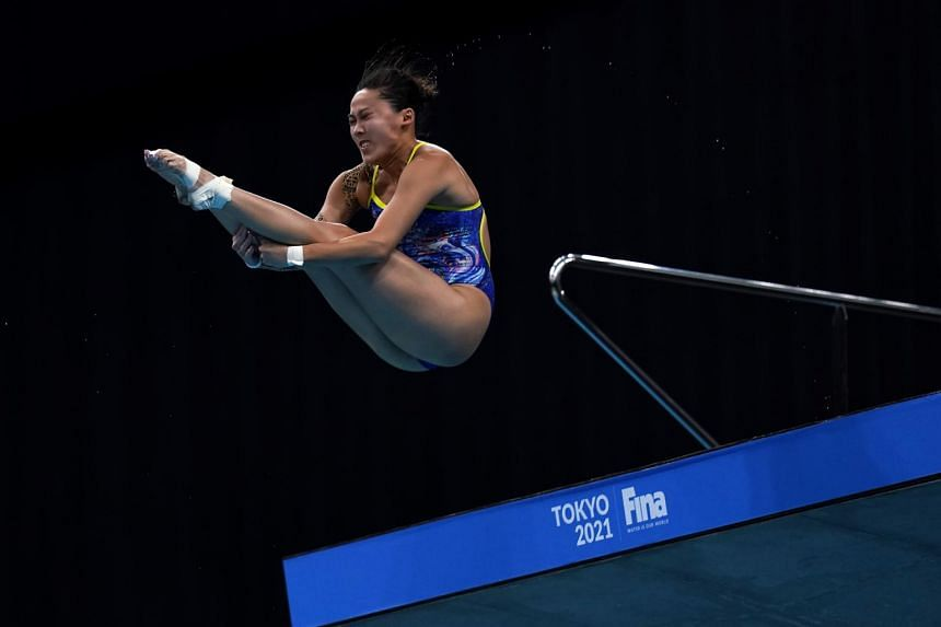 Freida Lim will become Singapore's first female diver at the Olympics.