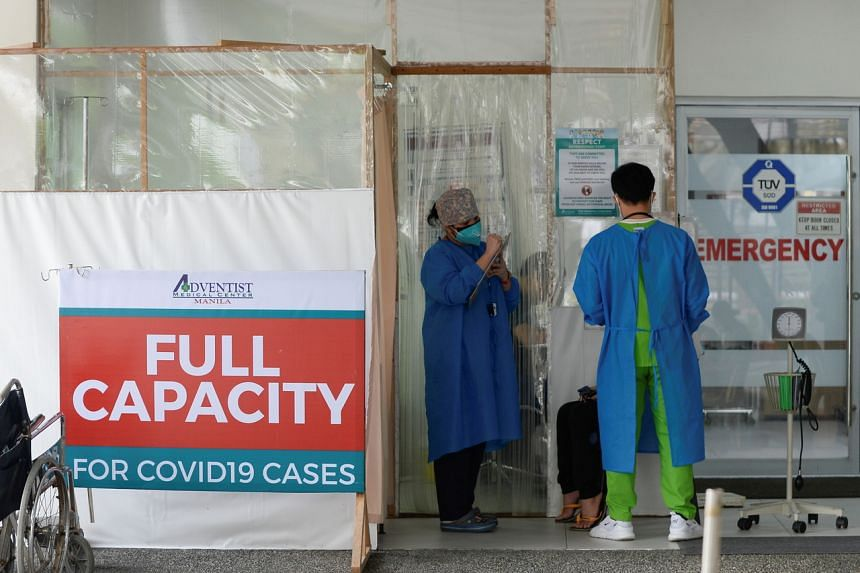 With hospitals overtaxed by Covid-19 patients during the peak of an outbreak early last year, the Philippines stopped nurses from working abroad.