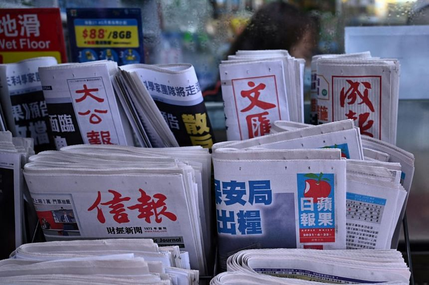 The Apple Daily columnist was reportedly arrested on suspicion of conspiring to collude with a foreign country or foreign forces.