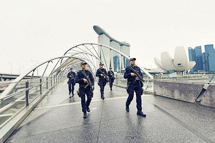 There is currently no specific or credible intelligence that points to an imminent terrorist attack on Singapore, noted the ISD.