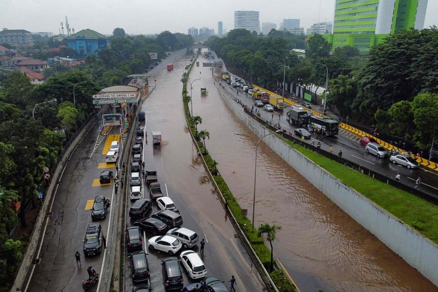 Cities like Jakarta are also sinking.