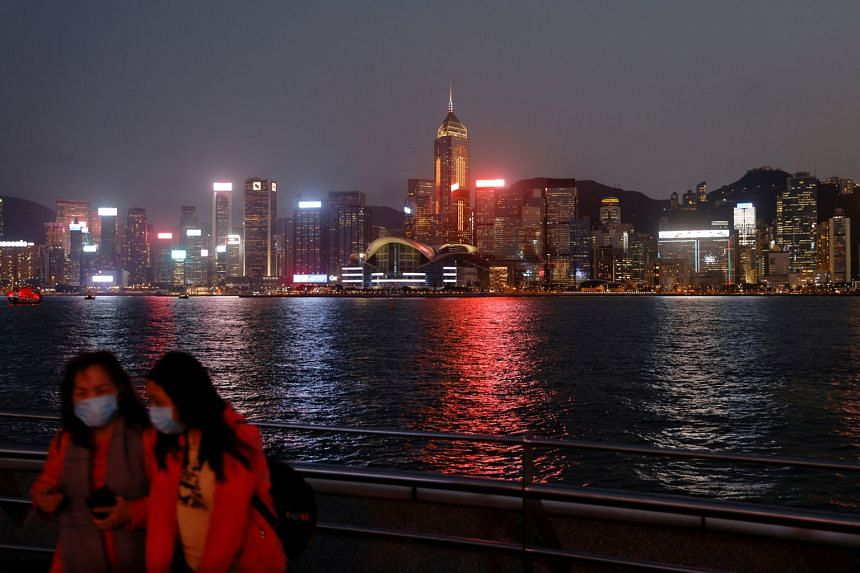 """The central financial district in Hong Kong. The """"Wealth Connect"""" plan, set to launch in the second half of the year, will let bank customers in nine southern Chinese cities invest across the border in Hong Kong and vice versa, further integrating th"""