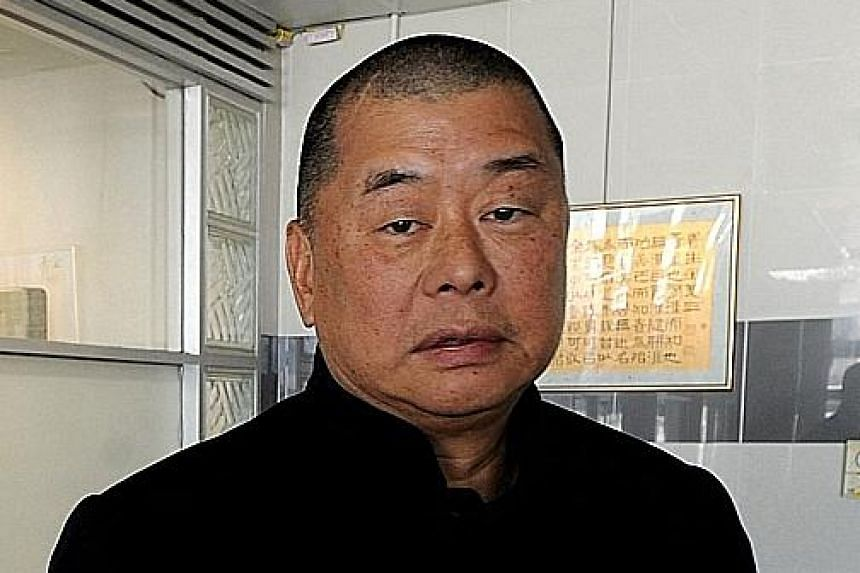 Jimmy Lai (above).