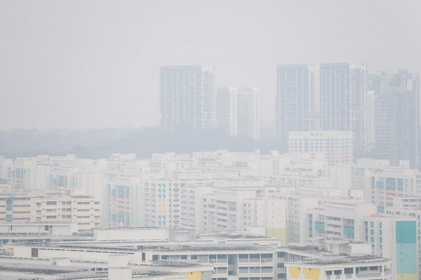 Singapore last experienced haze in September 2019, with air quality entering unhealthy levels on some days then.
