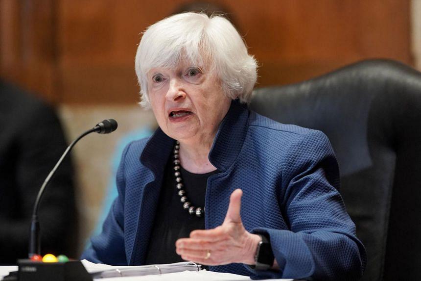 Dr Janet Yellen also sparred with Republican senators over inflation concerns.