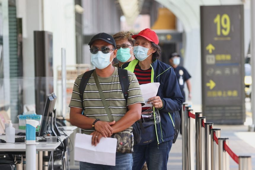 Taiwan has been extremely cautious about opening its largely closed borders lest it lets in more infections.