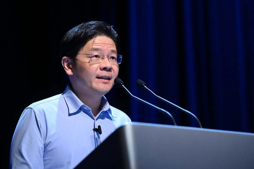 The GRC system is to ensure at least a minimum number of minority legislators in Parliament, said Finance Minister Lawrence Wong at an IPS forum on June 25, 2021.