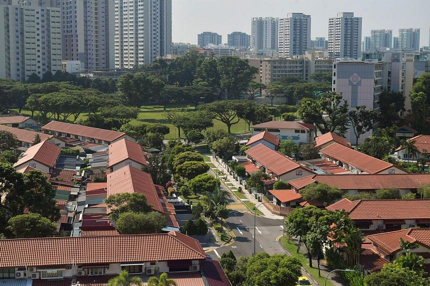 The Housing Board terraced houses in Whampoa estate have 50 years left on their 99-year leases. Nine HDB terraced units - seven in Whampoa and two in Queenstown - have changed hands so far this year.
