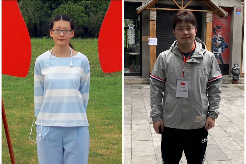 """Zhou Yeqin (left) joined the Chinese Communist Party as she believes in its goal to """"eventually realise communism"""". Xu Jia says that as he """"saw China getting stronger and stronger, the CCP as its ruling party, with its history, got increasingly"""