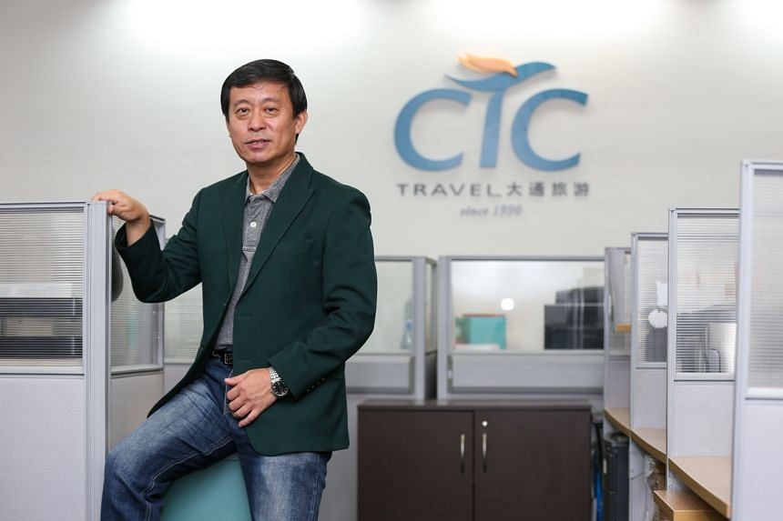 Chief executive Chen Bin of CTC Travel says that diversification will reduce the risks the business faces in the long run.